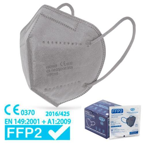 graue FFP2 Maske