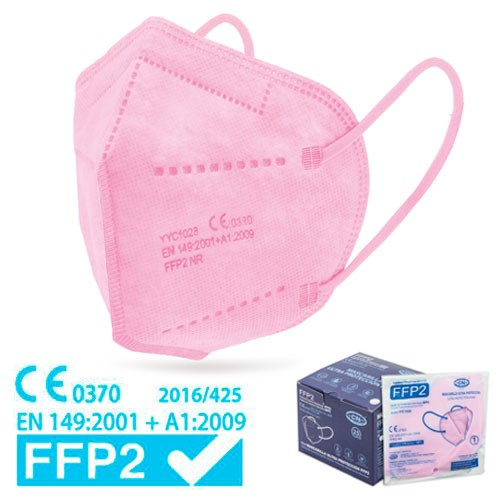 FFP2 pink