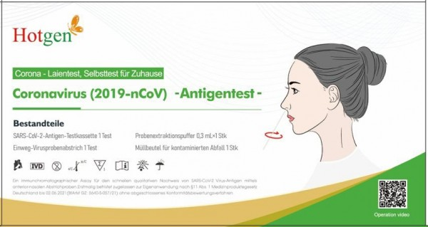 LAIEN Antigen Nasen-Abstrichest